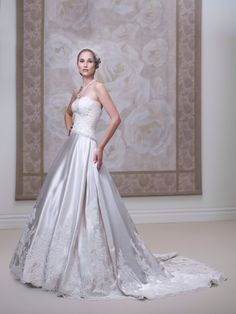 Amazing James Clifford wedding gown style J11444