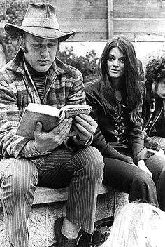 Author Ken (One Flew Over The Cuckoo's Nest) Kesey & Rosemary (Timothy's wife, who organized his prison escape through urban terrorists, The Weathermen) Leary, 1970