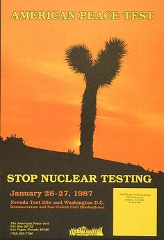 American Peace Test: Stop Nuclear Testing: Demonstration (1987)
