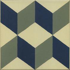 1900: Güell-1 - 20x20cm. | Floor Tiles - Gres | VIVES Azulejos y Gres S.A.