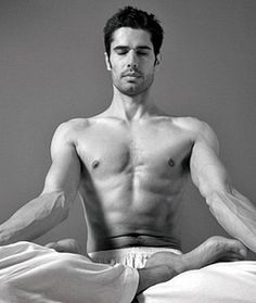 Do #yoga because it's NOT just for girls. #men #strength
