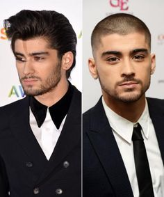 New Hair 2015: See Celebrity Hair Makeovers - Zayn Malik from #InStyle