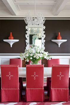 Tobi Fairley. Chairs - Dining room interior