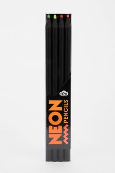 Neon Pencil - Set Of 4  #urbanoutfitters