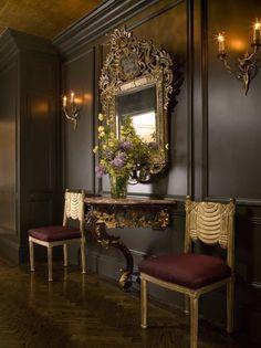 fabuleux, entrée, lieu, passage, endroit, visite, habitation, magnifique, hall, couloir, décoration