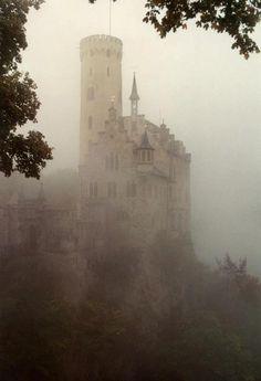 Schloss Lichtenstein, cliff castle located near Honau in the Swabian Alb, Baden-Württemberg, Germany  https://sphotos-a.xx.fbcdn.net/hphotos-snc7/599156_419544878132693_4503722_n.jpg