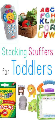Stocking Stuffers for Toddlers - The Cottage Market - - If you are looking for some fun and affordable Stocking Stuffers for Toddlers.you are in the right spot today! Sure hope it helps with your shopping! Stocking Stuffers For Boys, Christmas Stocking Stuffers, Stocking Fillers For Toddlers, Toddler Christmas Gifts, Christmas Baby, Xmas, Christmas Presents For Toddlers, Christmas Time, Christmas Crafts