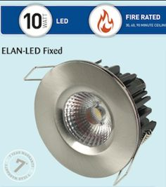 10W ELAN-LED Fixed Downlights - 6 Distinct Features Setting them Apart