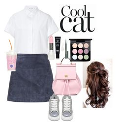 """I love this set! (cool cats)"" by apostaleksa on Polyvore featuring мода, Jil Sander, Burberry, Alexander McQueen, Dolce&Gabbana, MAC Cosmetics и Koh Gen Do"
