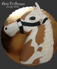 Horse Cake---too much work as far as I'm concerned but such a beautiful cake to look at.....wow!