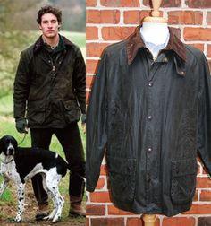 VERY NICE BARBOUR Bedale Green WAX Jacket Men's Sz 46 #Barbour #Rainwear
