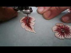 طريقة تطريز الوردة الملونة مع مريم lesson 9 - YouTube