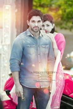 Allu Arjun (With images) Romantic Couple Images, Love Couple Images, Cute Love Couple, Cute Girl Pic, Couples Images, Kiss Photos Hd, Dj Movie, Allu Arjun Wallpapers, Cute Couples Kissing