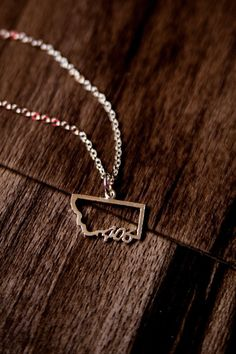 For The Love Of (406) Necklace from The Montana Way