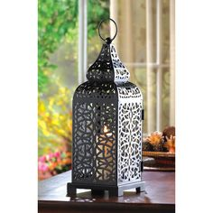 Moroccan Tower Candle Lantern #FairfieldGrantsWishes