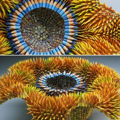 made from colored pencils - Jennifer Maestre