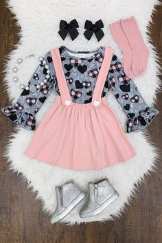 New Fashion Dress Fo - March 01 2019 at Cute Baby Girl Outfits, Kids Outfits Girls, Dresses Kids Girl, Cute Outfits For Kids, Toddler Girl Outfits, Cute Kids Fashion, Baby Girl Fashion, Toddler Fashion, Trendy Baby Clothes