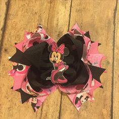 Minnie Mouse loving fans - I gotcha covered! New hairbow - Minnie Mouse in red!! Claim yours now!!! #bowtifulblessings #bbgifts #etsy #etsyseller #etsyshop #etsyusa #handmade #hairbow #bow #boutiquebow #minniemouse #red #new #girlie #girlfashion #shopLIBERTY #shoplocal #shopsmall #boss #smallshop