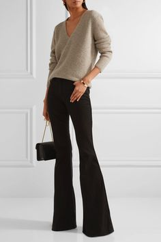ba8ecedfb368d TOM FORD sleek Ribbed cashmere sweater