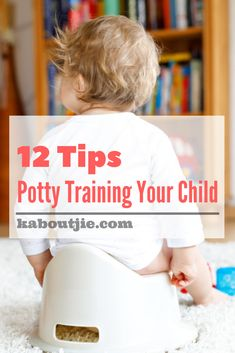 12 Tips To Consider When Potty Training Your Child PLUS 4 A Kid Giveaway    Not having to change dirty nappies is something parents look forward to. Here are some pointers for potty training your child when the time is right.    #pottytraining #pottytrainingtips #parenting