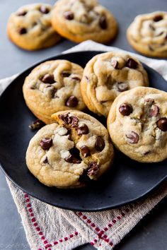 I tested dozens of recipes until I landed on this recipe! These are the best soft chocolate chip cookies, no questions asked!