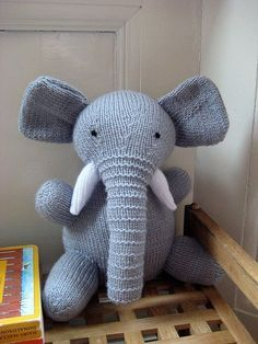 Free Elephant Toy Amigurumi Knitting Pattern