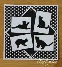 """Résultat de recherche d'images pour """"carte scrapbooking anniversaire chat"""""""