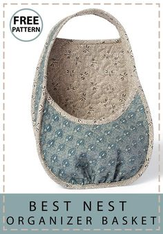 Keep the things you love (or use often) handy and well organized with this basket.