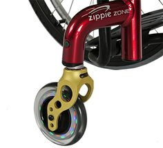 light up caster wheels! >>> See it. Believe it. Do it. Watch thousands of spinal cord injury videos at SPINALpedia.com