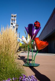 On Top of the World by Terry Burnett by Easy Hiker, via Flickr. Art on the Corner in Downtown Grand Junction, CO.