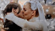 thequeenswife: How the wedding should've been…. Cute Lesbian Couples, Lesbian Love, Swan Queen, I Am A Queen, Queens Wedding, Regina And Emma, Betty And Jughead, Lesbians Kissing, Regina Mills