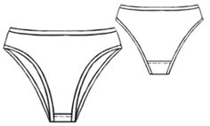 I just printed out this pattern--unfortunately I couldn't get it to come out to scale. Luckily, my Dad's a building genius and he had a scaling ruler I could use! So, in a matter of minutes, I had a pattern for underwear! Now I'm making my own organic, chemical-free, not-made-by-slavechildren-in-china panties! SUCCESS!