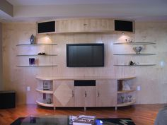 Modern entertainment area!