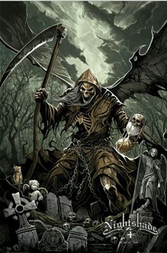 Grim Reaper Wallpaper Layouts Backgrounds Grim Reaper With Wings