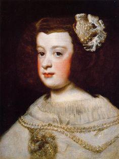 Infan Maria Teresa - Diego Velazquez