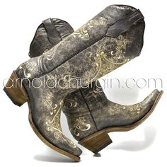 Arnold Churgin Erinne Western Boots, Cowboy Boots, The Struts, Art Pieces, How To Make, Shoes, Style, Fashion, Swag