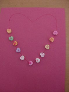 this would be cute with heart all the way around.....and simple for preschoolers