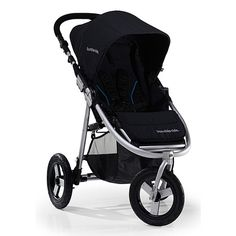 Our first purchase: BumbleRide Stroller Great for: active parents; light jogging; sidewalks, stores, grass or dirt trails; combining pretty and practical Bottom Line: For parents who want equal parts style and substance, the Bumbleride Indie offers the fashion, comfort and functionality to keep newborns through toddlers content while you shop, walk or jog on any terrain.