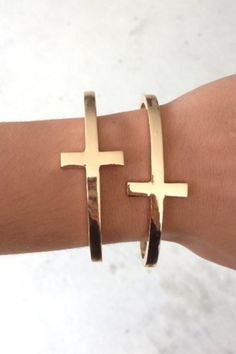 Cross cuff $8