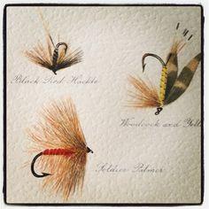 Old #troutflies #flytying #flyfishing #wetflies - @flyfishingpodcast- #webstagram