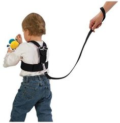BLACK Deluxe Security Harness By Baby Buddy for Children//Toddler Color