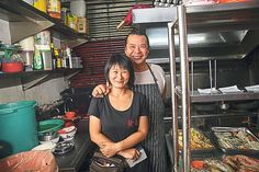 Ah Fa Chinese Restaurant's proprietors Cheng Zhi Hua and Steven Cheng Soon Fatt. — Pictures by Choo Choy May