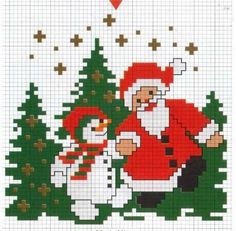 . Small Cross Stitch, Cross Stitch Charts, Cross Stitch Designs, Cross Stitch Patterns, Cross Stitch Christmas Ornaments, Christmas Embroidery, Christmas Cross, Cross Stitching, Cross Stitch Embroidery