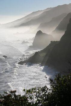 Punakaiki New Zealand West Coast  South Island.  Very lovely Interesting Place.