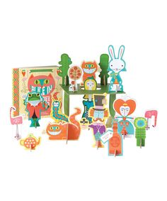 Another great find on #zulily! Alice in Wonderland Board Book Play Set by Gibbs Smith #zulilyfinds