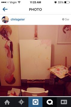Chris Geier Art Studio