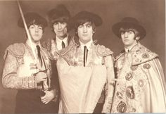 The Beatles toreros