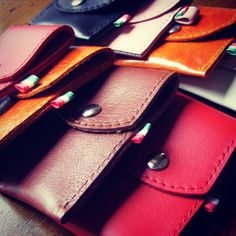 #bputters #leather #pouches #bornforthebigshot