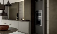 Design kitchens Blade are the most important collection of Modulnova; Modern Kitchen made to celebrate first twenty Years of the Company Home Goods Decor, Elle Decor, Interior Design Inspiration, Kitchen Interior, Interior Architecture, House Design, Blade, Kitchen Designs, Kitchen Ideas