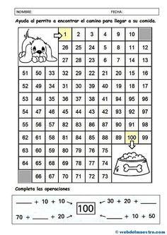 Math Division Worksheets, Preschool Worksheets, Activities For 6 Year Olds, Math Activities, Kindergarten Math, Teaching Math, Three Letter Words, Barbie Coloring Pages, Tens And Ones